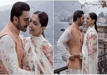 DeepVeer | 'दीप-वीर'च्या लग्नाचा वाढदिवस, खास फोटो शेअर करत रणवीरकडून दीपिकाला शुभेच्छा!