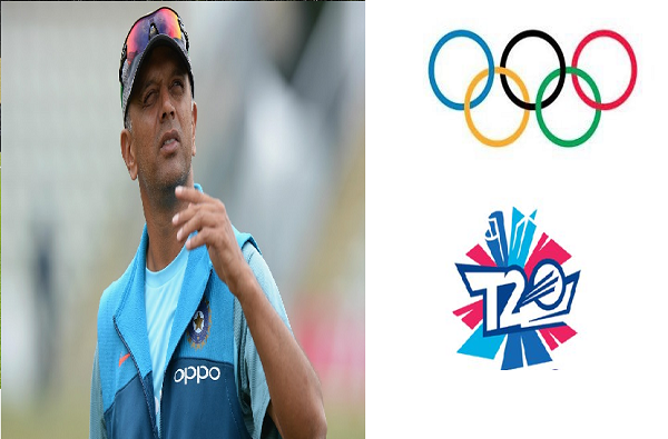 support for the inclusion of t 20 cricket in the olympics ready for the expansion of cricket rahul dravid
