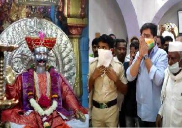 पाडव्याला मंदिरं पुन्हा खुली, रोहित पवार ग्रामदैवत गोदड महाराजांच्या दर्शनाला