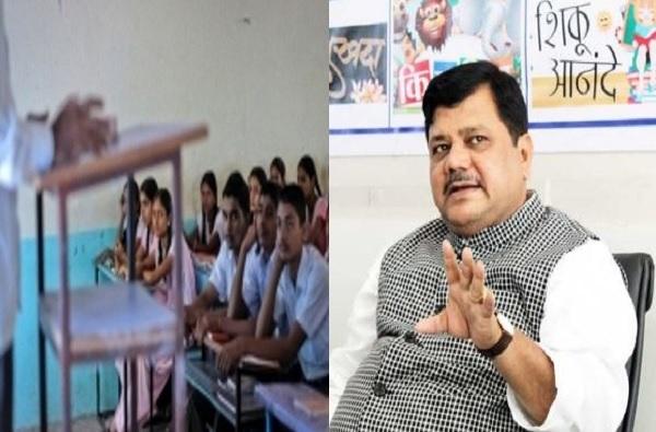 मुंबई, ठाण्यातील शाळा बंद, मग उस्मानाबाद जिल्ह्यातील विद्यार्थी-पालकांची काळजी सरकारला नाही का? भाजपचा सवाल