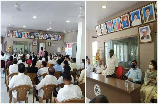 केंद्राच्या कृषी आणि कामगार कायद्याविरोधात शेकाप आक्रमक, 26 नोव्हेंबरला भारतबंदची हाक