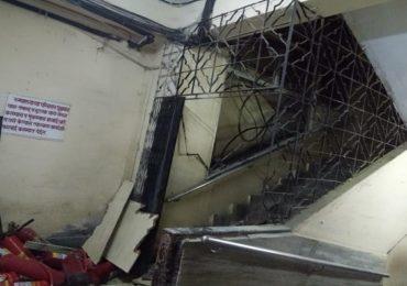 नायर रुग्णालयातील ओपीडी इमारतीची आग आटोक्यात, कोणतीही जीवितहानी नाही