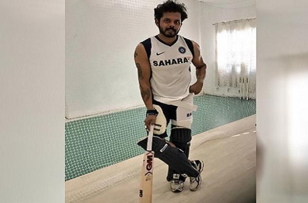 faster Bowler shanthakumaran nair sreesanth ready to play in keral president t 20 cup