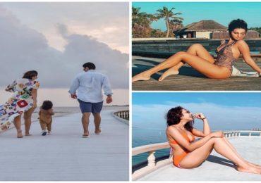 Photo : व्हॅकेशन स्पॉट मालदीव; अभिनेत्रींचं बोल्ड फोटोशूटचं डेस्टिनेशन