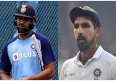 रोहित-इशांत ऑस्ट्रेलियाविरुद्धच्या पहिल्या दोन कसोटी सामन्यांना मुकणार? टीम इंडियाच्या डोकेदुखीत वाढ