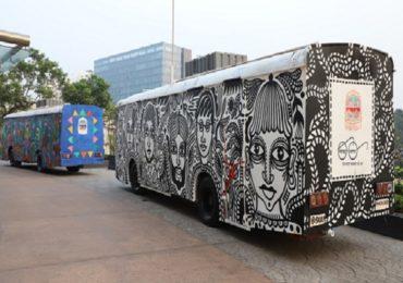 नवी मुंबई महापालिकेची भन्नाट आयडिया, फोटोतली बस नाही आहे 'मोबाईल टॉयलेट'