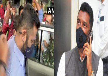 Pratap Sarnaik ED Live | प्रताप सरनाईक आणि मुलगा विहंगची एकाचवेळी चौकशी