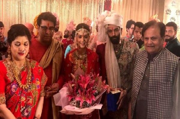 Raj Thackeray_Ahmed Patel_Amit Thackeray