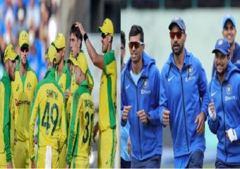 India vs Australia 1st ODI Live Score update : ऑस्ट्रेलियाच्या फलंदाजांची कमाल, भारताचा 66 धावांनी पराभव