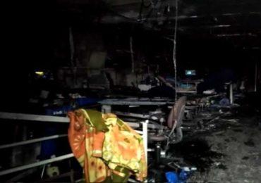 गुजरातमध्ये COVID रुग्णालयाला भीषण आग, 6 जणांचा होरपळून मृत्यू