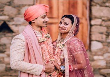 Photo : 'मिर्झापूर 2' मधील रॉबिन अखेर विवाह बंधनात, पाहा फोटो