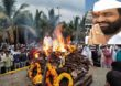 Bharat Bhalke Funeral live : भारत भालके यांच्या पार्थिवावर अंत्यसंस्कार, मुलाकडून भडाग्नी
