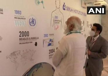 मिशन कोरोना व्हॅक्सीन! अहमदाबाद, हैदराबादनंतर पंतप्रधान मोदी सिरममध्ये; संशोधकांशी साधला संवाद
