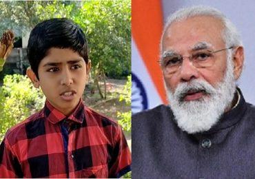 पंतप्रधान नरेंद्र मोदींचे परभणीच्या विद्यार्थ्याला पत्र, मोदींच्या पत्रानं विद्यार्थ्यासह कुटुंबीय भारावले