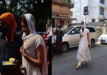 PHOTO | 'गुरूपर्व'च्या निमित्ताने अभिनेत्री पूजा हेगडेची गुरुद्वाराला भेट, पाहा खास फोटो