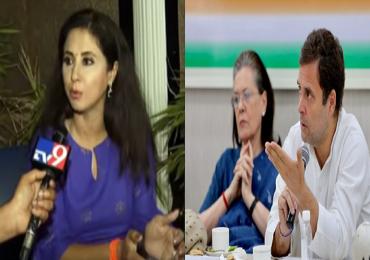 उर्मिला मातोंडकर म्हणाल्या, 'सोनिया गांधी आणि राहुल गांधींविषयी आदर, पण.... '