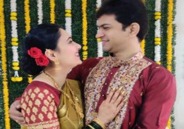 PHOTO | लग्नानंतर सई लोकूर-तिर्थदीप रॉयचं 'Couple Goal' फोटोशूट, पाहा खास फोटो...