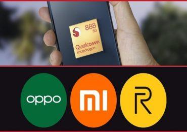 नवीन Qualcomm Snapdragon 888 प्रोसेसरसह Realme, Oppo आणि Xiaomi चे स्मार्टफोन लाँचिंगच्या मार्गावर