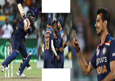 India vs Australia 1st T20 : रवींद्र जडेजाची फटकेबाजी, चहलची फिरकी आणि थंगारासूचा दणका, टीम इंडियाच्या विजयाचे हिरो