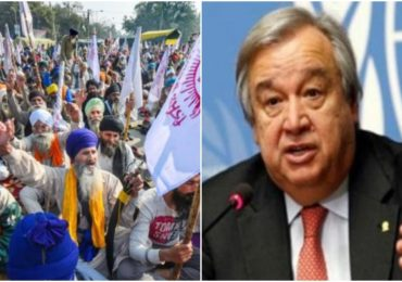 'शेतकऱ्यांना आंदोलन करण्याचा पूर्ण अधिकार, त्यांना अडवू नका', संयुक्त राष्ट्राकडूनही मोदी सरकारला कानपिचक्या