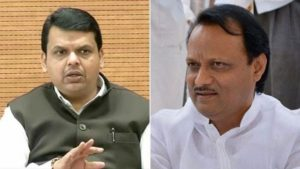 BJP leader Devendra Fadnavis take a dig at Ajit Pawar over Assembly president election
