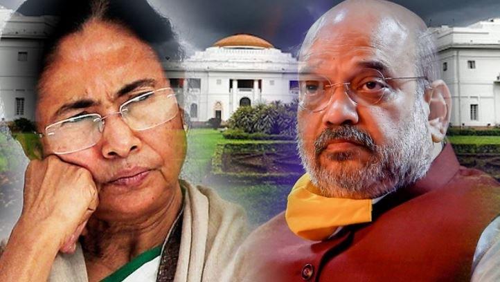 mamata banerjee_Amit Shah_2021 West Bengal Legislative Assembly election