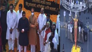 Balasaheb Thackeray Statue unveiled