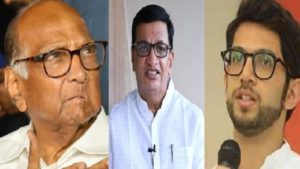 Sharad Pawar Aditya Thackeray Balasaheb Thorat