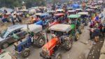 Farmers tractor march Republic day