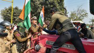 Farmers Clash , delhi