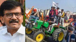 sanjay raut Farmers Prostests
