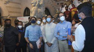 uddhav thackeray visit bmc for heritage walk