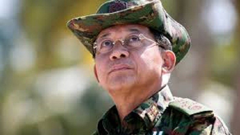 Myanmar's Commander in Chief Senior General Min Aung Hlaing