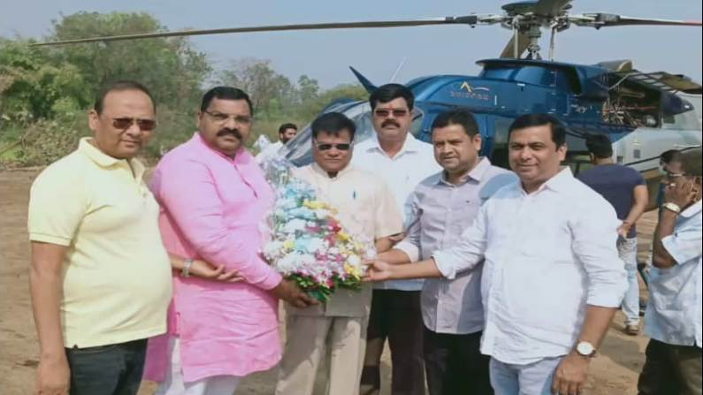Image result for janardan bhoir helicopter