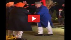 Farooq Abdullah dance video