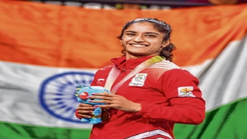 indian wrestler, indian wrestler Vinesh Phogat, Vinesh Phogat win golden medel, matteo pelican wrestling competition, Diana Mary Helen WEICKER