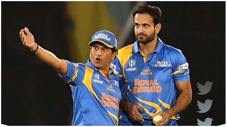 इरफान पठाणकडून आतापर्यंतची सगळ्यात खराब ओव्हर, 'सचिन पाजी'च्या  मार्गदर्शनाने जोरदार कमबॅक! Road Safety World Series irfan pathan Worst  over Sachin tendulkar Advice help ...