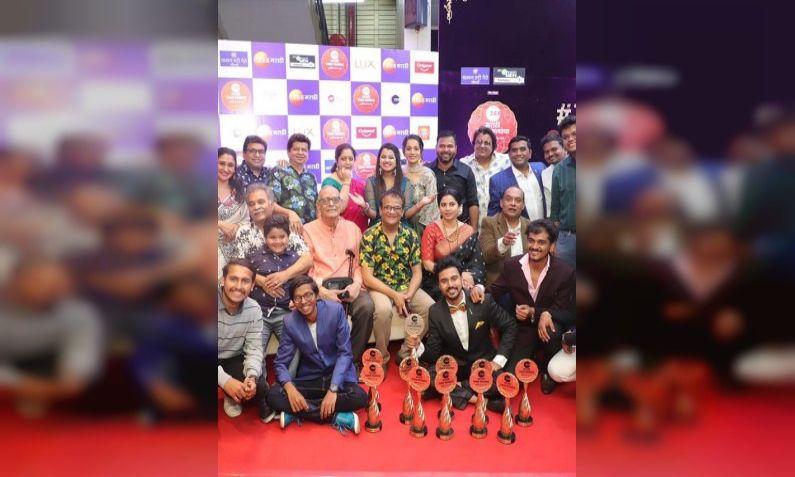 Zee Marathi Awards : झी मराठी अवॉर्ड्समध्ये सई-आदित्यची बाजी, 'माझा होशील  ना' मालिकेचा डंका | Sai-Aditya won in Zee Marathi Awards, 'Mazha Hoshil Na'  serial | TV9 Marathi