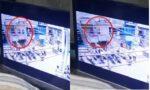 Aurangabad Salon businessman police beats CCTV
