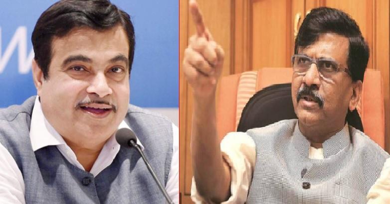 BJP Leader Nitin Gadkari should not take rally in belgaum bypoll against Marathi candidate says Sanjay Raut