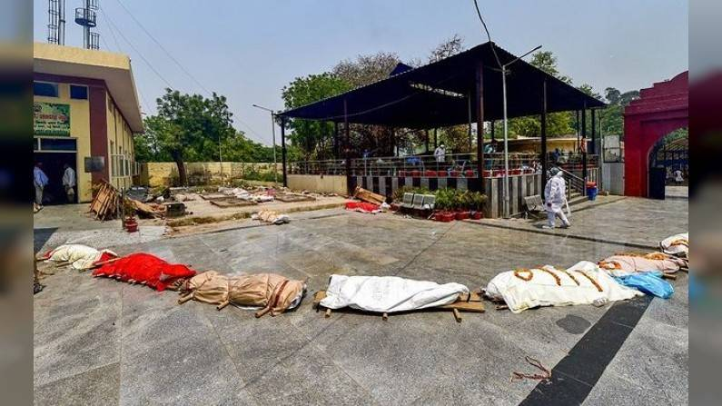 Delhi corona death