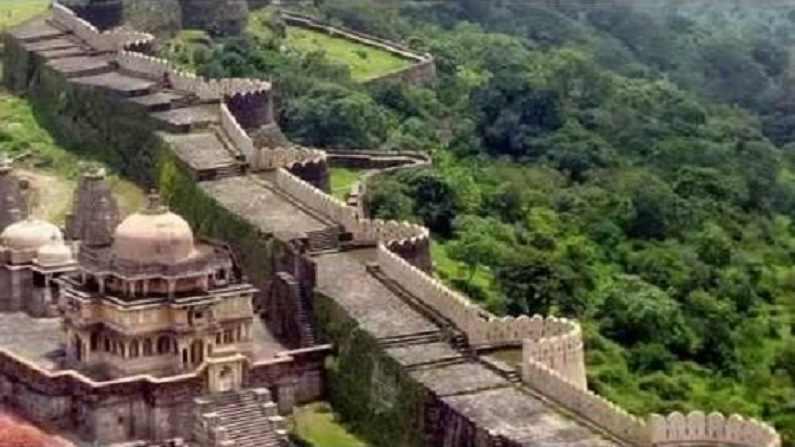Kumbhalgarh Fort Rajasthan Wall