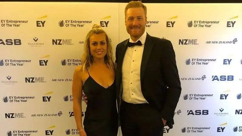 New Zealand martin guptil Wife Sports Presenter Actress Laura MCgoldrick