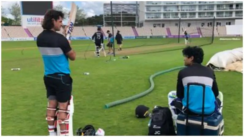 New Zealand First practice Session in Southampton WTC Final