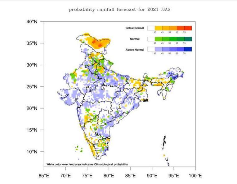 Monsoon prediction of IMD JUNE to SEPTEMBER