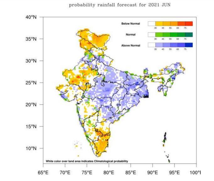 Monsoon prediction of IMD JUNE