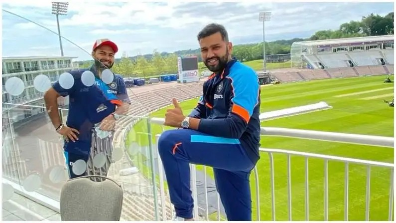 Team India Reached Southampton Bumrah Rohit Photo Virat WTC Final