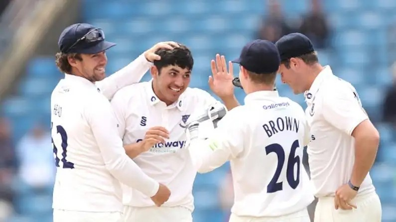 Danial Ibrahim become Youngest Score Fifty in 131 year County Championship