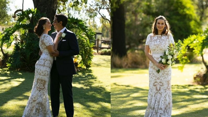 Actress Evelyn Sharma's Wedding
