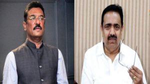 Pratap Sarnaik and Jayant Patil
